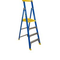 Bailey Fibreglass P170 Job Station Platform Stepladder 2