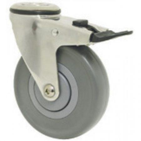 Castor Stainless Steel: 75-150kg