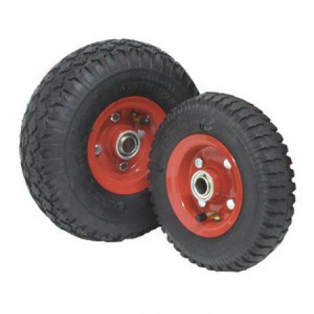 Semi Pneumatic Wheels: Steel Rim 75-180kg