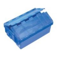IH3013 Security Crate 32lt Solid with Lid & PC Window attached