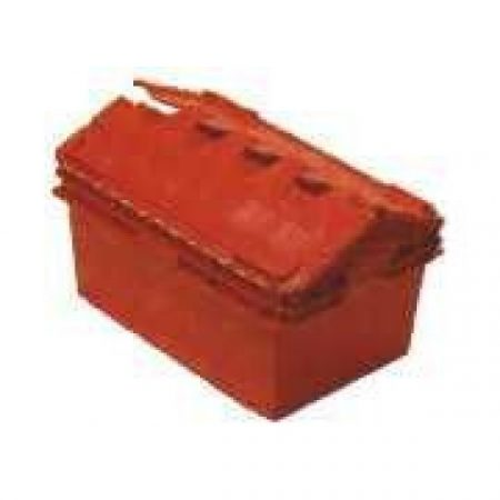 NS393 Security Crate 75lt Solid, attached Lid