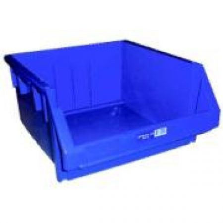 IH065 Crate 55lt Solid, Drainage