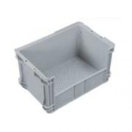 IH027 Crate 50lt Solid Sides, Ventilated Base, Side Access