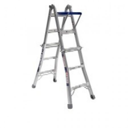 Ladder Aluminium: Bailey Extendable Stepladder 135kg