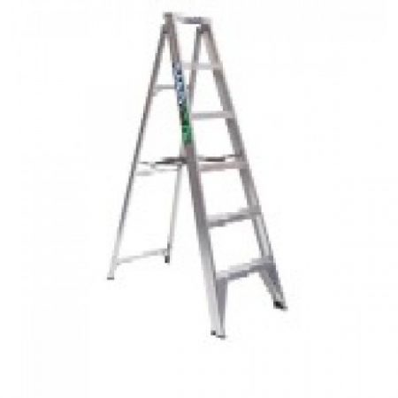 Ladder Aluminium: Bailey Single Sided Stepladder- Trade
