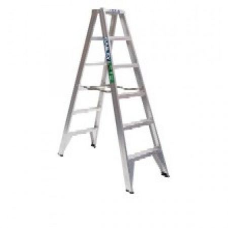 Ladder Aluminium: Bailey Trade 150kg Double Sided Stepladder