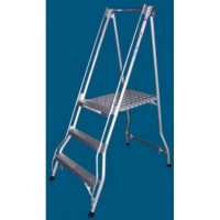 Ladder Aluminium: Allweld's Folding Platform Ladder Range