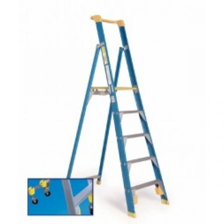 Ladder Fibreglass: Fibreglass Platform Stepladder