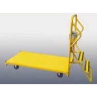 Heavy Duty Platform Trolley with Ladder