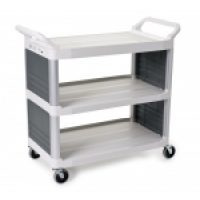 Trolley Multi Deck: 4092 - Utility Cart Enclosed 2 Sides