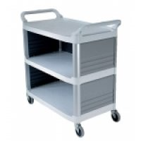 Trolley Multi Deck: 4093 - Utility Cart Enclosed 3 Sides