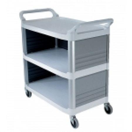 Trolley Multi Deck: 4093 - Utility Cart Enclosed 3 Sides