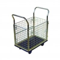 Trolley Cage: NB107 Prestar Platform Trolley with Cage Sides