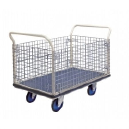 Trolley Cage: NG407 Prestar Platform Trolley with Cage Sides