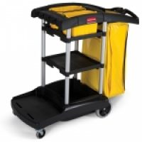 High Capacity Janitors Cart