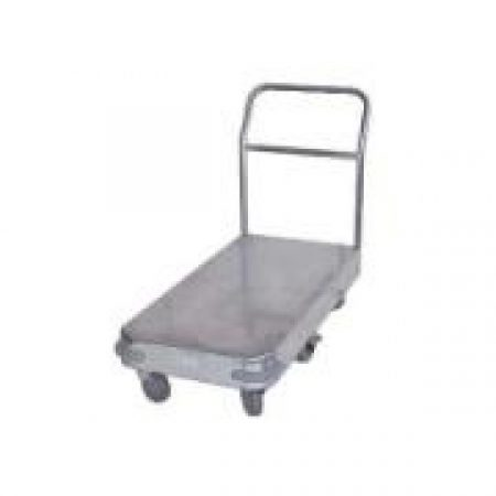 Single Deck 6 Wheel Galvanised Trolley