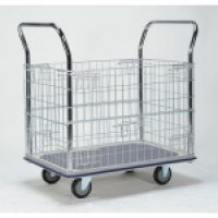 Trolley Cage: HG313 Platform Trolley with Cage Sides
