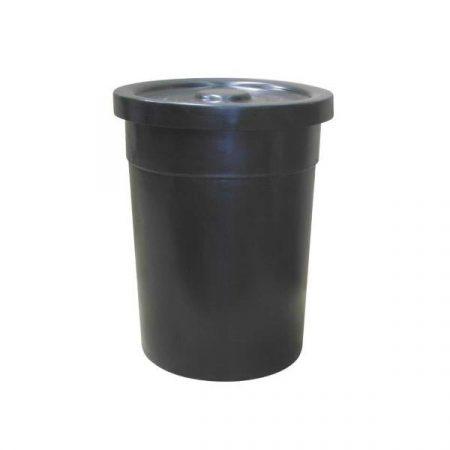 Plastic Rotomold: 115Lt Nesting Drum W/Lid